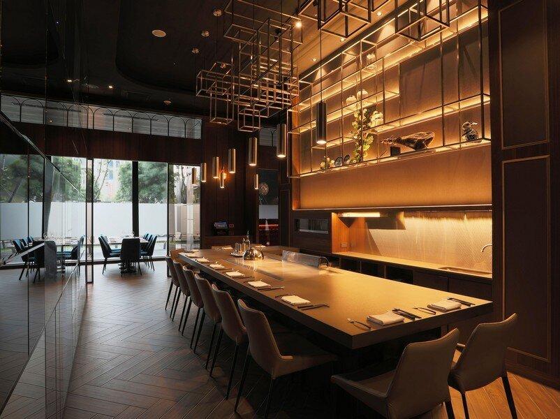 ▲第二區創意鐵板燒區,在此享用鐵板上的主食。