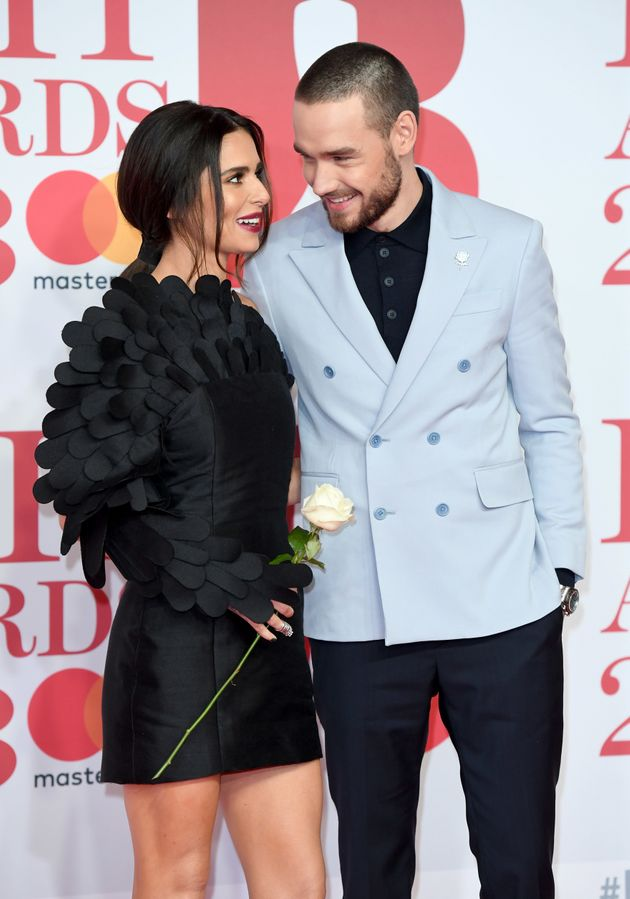 Cheryl and Liam on the Brit Awards red carpet last