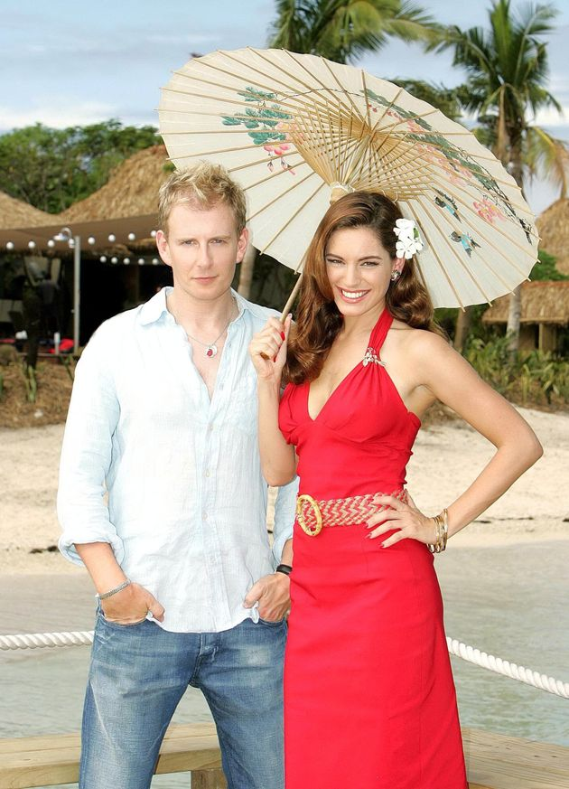 Kelly Brook hosted Celebrity Love Island with Patrick Kielty back in