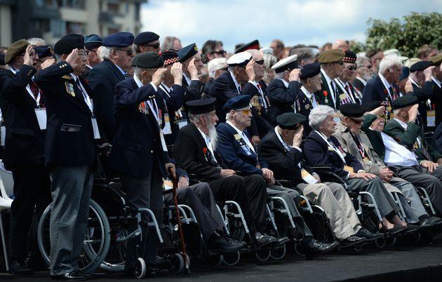 Plusieurs vétérans canadiens qui ont participé au débarquement de Normandie...