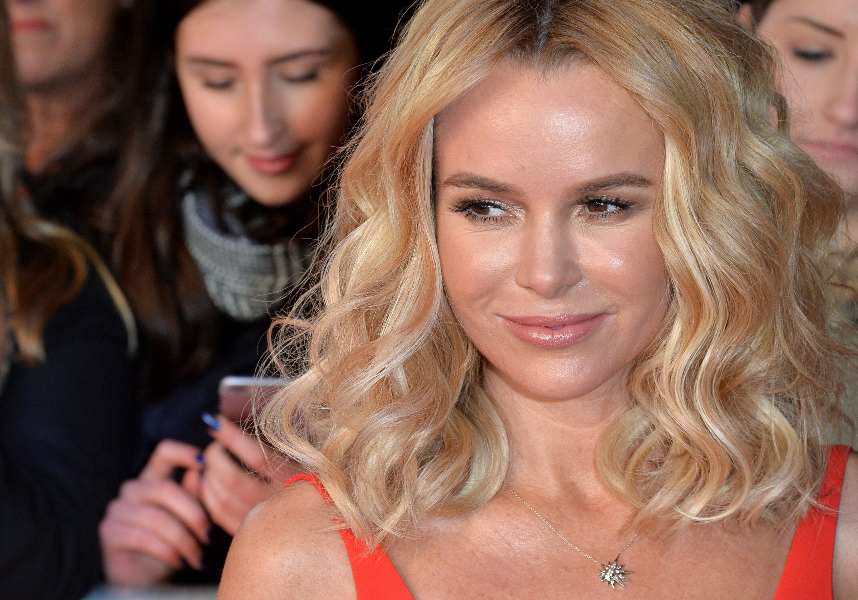 LONDON, ENGLAND - JANUARY 22:  Amanda Holden attends the Britain's Got Talent Auditions on January 22, 2016 in London, England.  (Photo by Anthony Harvey/Getty Images)
