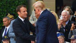 Devant Trump, Macron appelle à ne