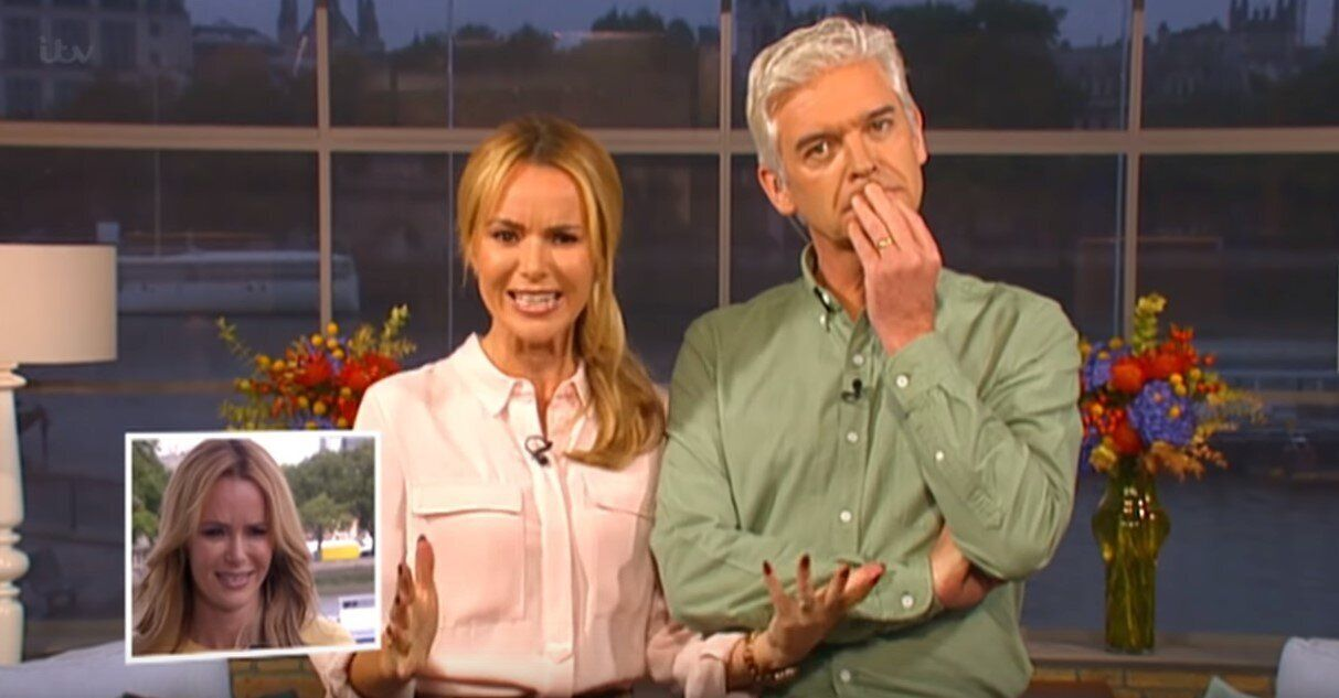 Holden used to stand-in for Holly Willoughby frequently on ITV daytime show 'This Morning'