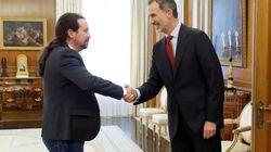 Iglesias traslada al rey su deseo de Gobierno de coalición y a Sánchez empiezan a darle las