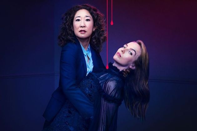 Sandra Oh and Jodie Comer as Eve and