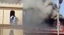 Un jeune homme sauve deux femmes d'un incendie à Oran