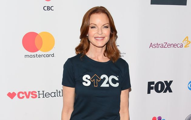Marcia Cross attends Hollywood Unites for the 5th Biennial Stand Up To Cancer on Sept. 9, 2016 in Los