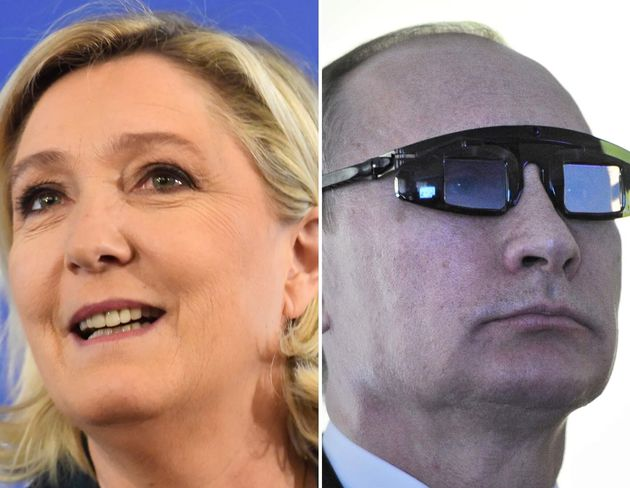 Marine Le Pen / Vladimir