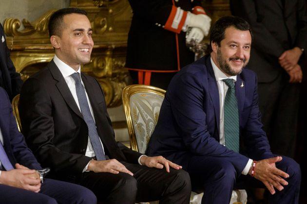 Incontro a sorpresa tra Luigi Di Maio e Matteo Salvini: