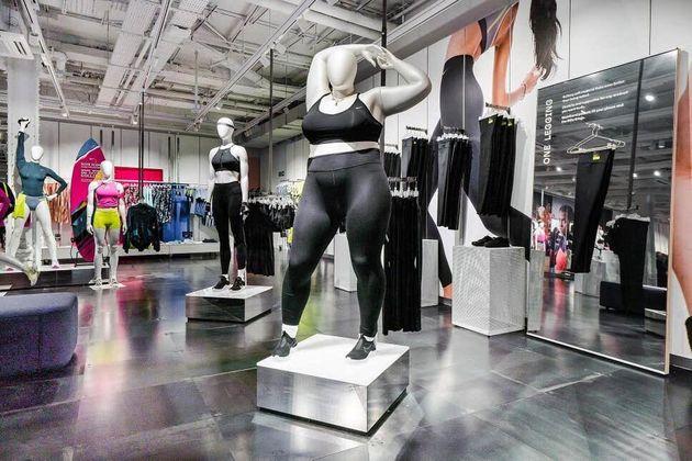 Nike utiliza por primera vez maniquíes de talla