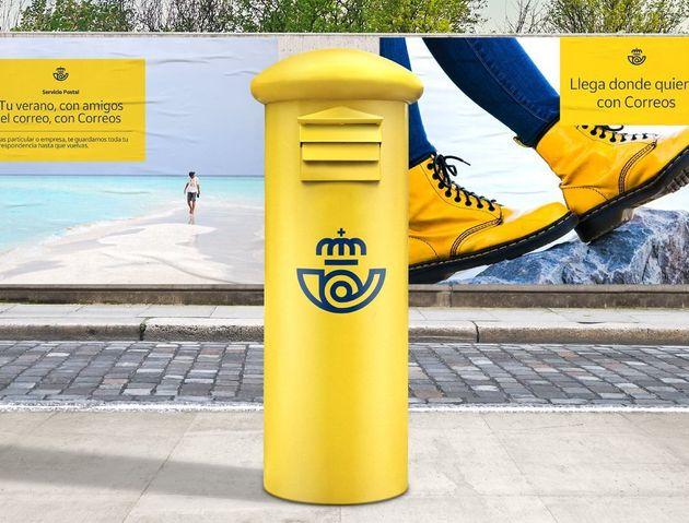 Correos no ha pagado 250.000 euros por este logo como dicen PP y