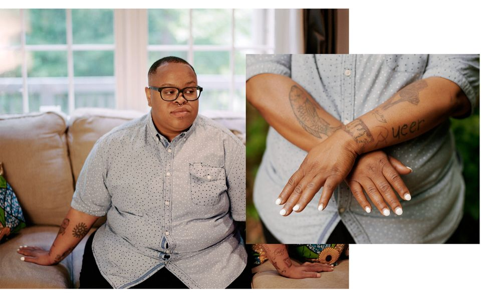 Cazembe Murphy Jackson, a transgender man, had an abortion his junior year in