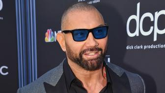 LAS VEGAS, NV - MAY 01:  Dave Bautista attends the 2019 Billboard Music Awards at MGM Grand Garden Arena on May 1, 2019 in Las Vegas, Nevada.  (Photo by Jeff Kravitz/FilmMagic for dcp)