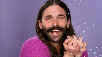 NEW YORK, NEW YORK - APRIL 24: Jonathan Van Ness And Essie Celebrating PRIDE Month With A Fresh Mani on April 24, 2019 in New York City. (Photo by Craig Barritt/Getty Images for Essie)