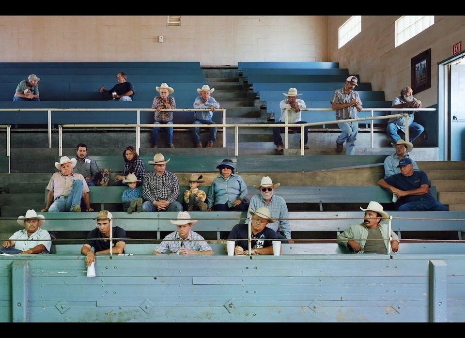 "<em>Visalia Livestock Market, Visalia, California</em>. ""I've been working in that region for several years,"" <a href=""http:/"