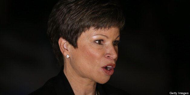 CHICAGO, IL - NOVEMBER 06:  Valerie Jarrett, Senior Advisor to U.S. President Barack Obama attends the Obama Election Night w