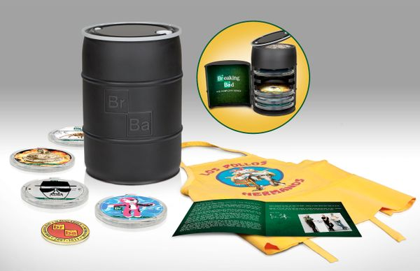 What better way to binge watch Breaking Bad than on Blu-ray? The complete series boxed set offers not just every episode of t