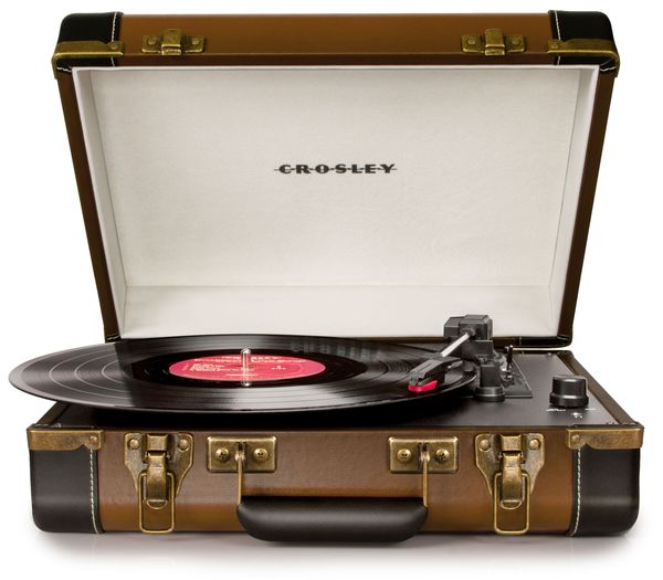 This isn't probably going to be an audiophile's dream, but with practicality and some nifty design to boot, Crosley's Executi