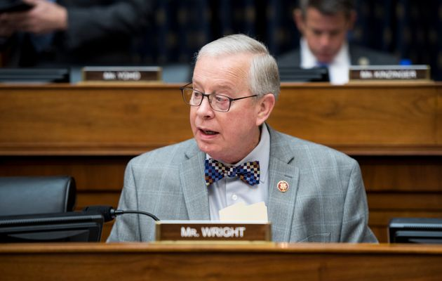 Rep. Ron Wright (R-Texas) at a House Foreign Affairs Committee hearing in