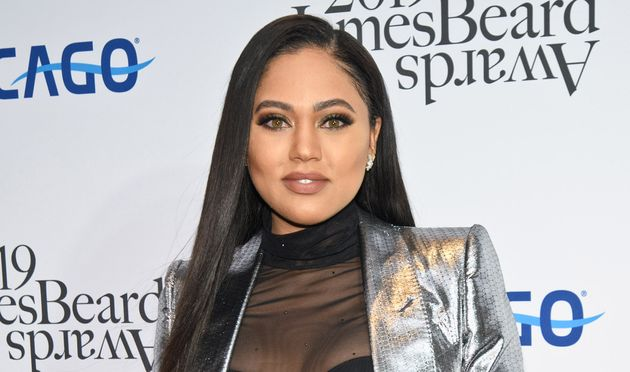 Ayesha Curry attends the 2019 James Beard Awards at Lyric Opera Of Chicago on May 6,