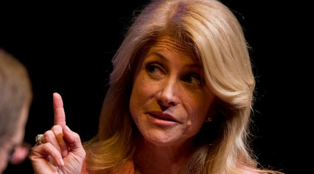 Texas Senator Wendy Davis speaks about the Texas governor's race with Evan Smith of the Texas Tribune two days after her Democratic primary victory. Davis, known nationally for her 2013 abortion filibuster, will face a well-funded Republican Greg Abbott in the November general election. (Photo by Robert Daemmrich Photography Inc/Corbis via Getty Images)