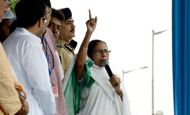 Mamata Says 'BJP Lighting Naked Pyres Of Terror' In West