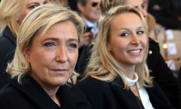 Marine Le Pen et Marion Maréchal à Nice en octobre