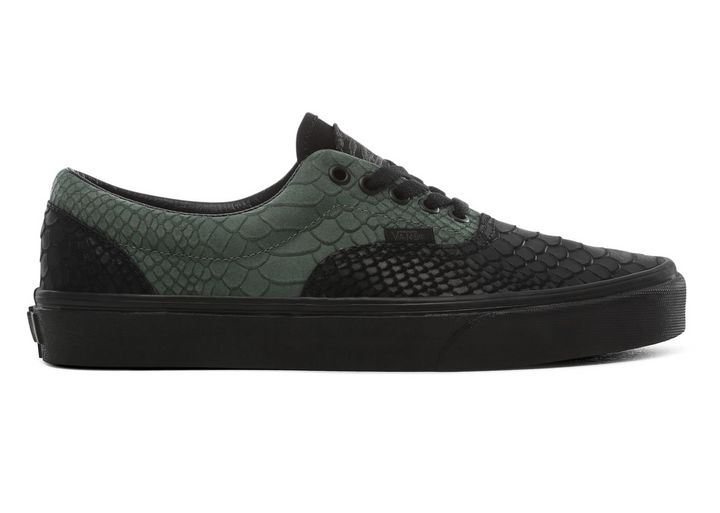Vans x Harry Potter Era Slytherin Trainers Green Black All Sizes Available! | eBay