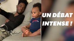 Un adorable et intense débat entre un papa et son
