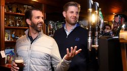 Eric Trump Crows About 'Good Time' When Quizzed Over Taxpayer Trip Tab At Pub