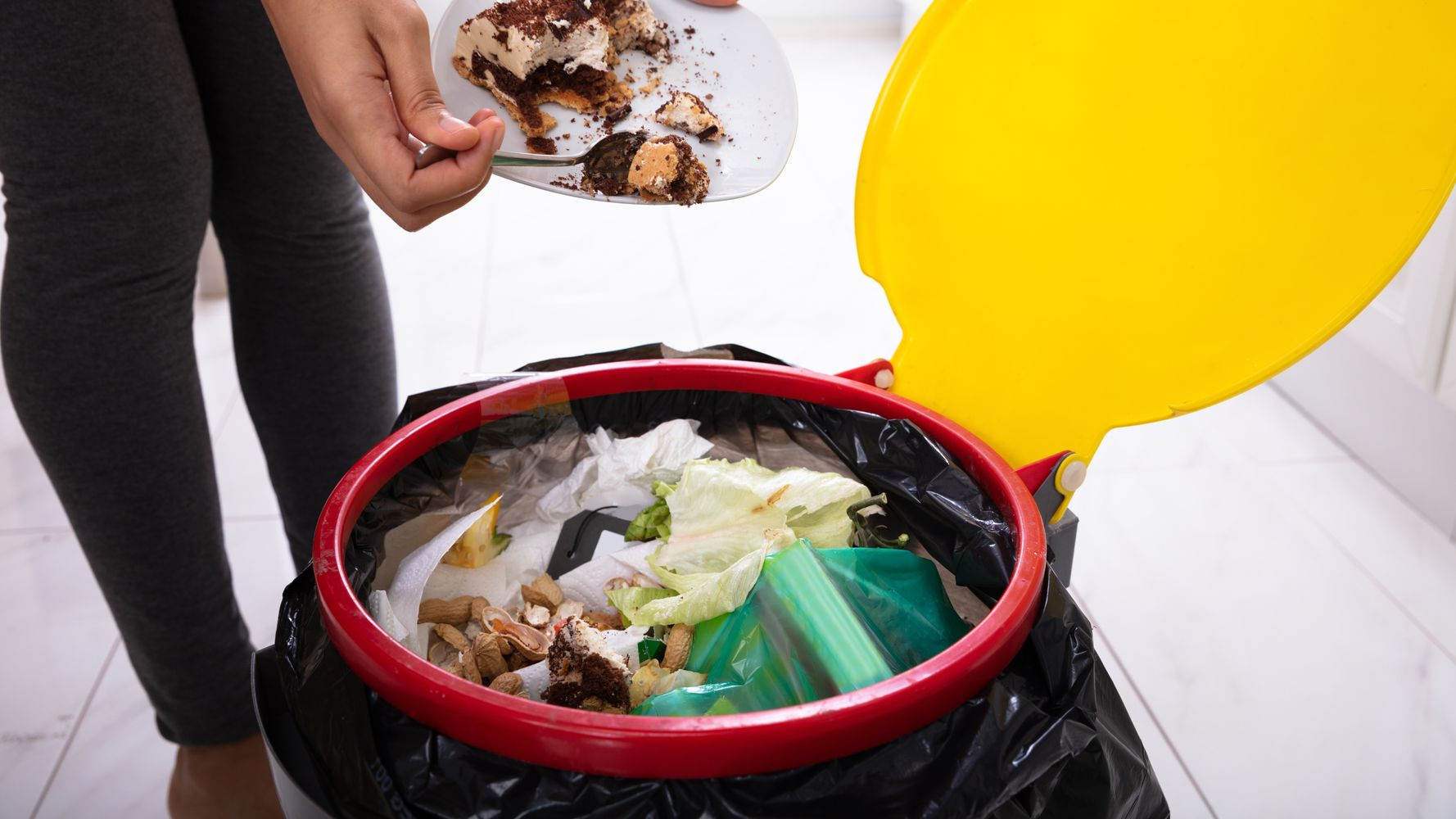 Chucking Compostable Packaging In Your Food Bin Not As Eco-Friendly