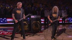 Metallica Performs The Face-Melting National Anthem The NBA Finals