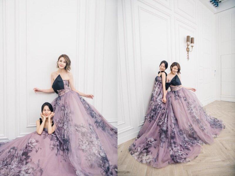 六月新嫁娘!人氣美模小白:誰說婚紗只能跟老公拍,完成我的閨密婚紗夢!