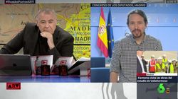 Pablo Iglesias sorprende con este 'dardo' a Ferreras nada más empezar su entrevista en 'Al Rojo