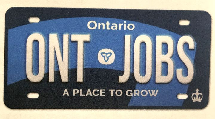 The Ontario government introduced a new design for licence plates in its 2019 budget.