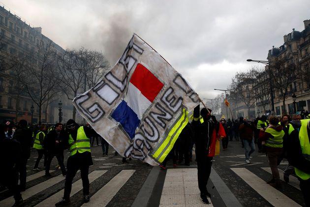 Photo d'illustration prise sur les Champs-Élysées le 16 mars