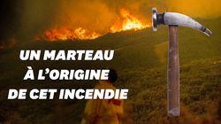 C'est un marteau qui a causé le plus grand feu de forêt de l'histoire de la