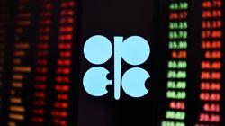 Le pétrole de l'OPEP représente 42% de la production mondiale en