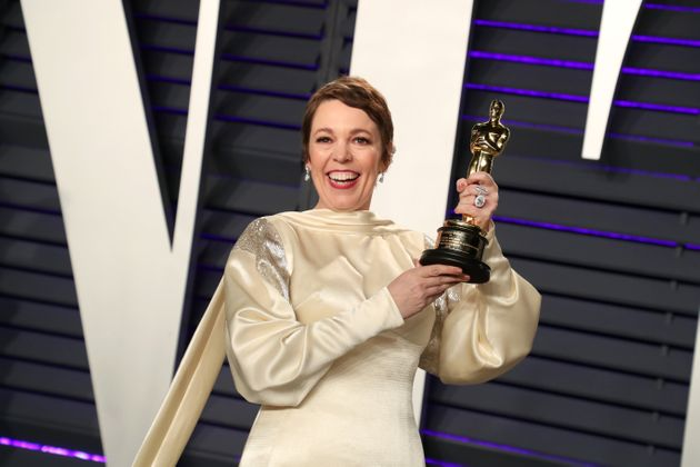 Olivia Colman at the Academy