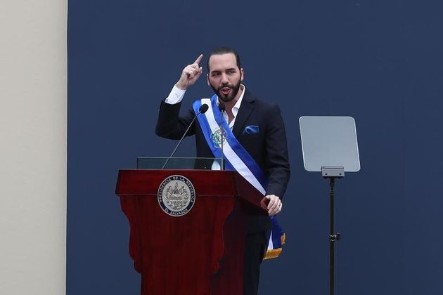 Le nouveau président salvadorien,Nayib Bukele, 37 ans, a pris ses fonctions le 1er juin