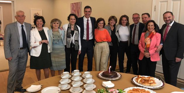 Foto de cumpleaños de Carmen Calvo en La