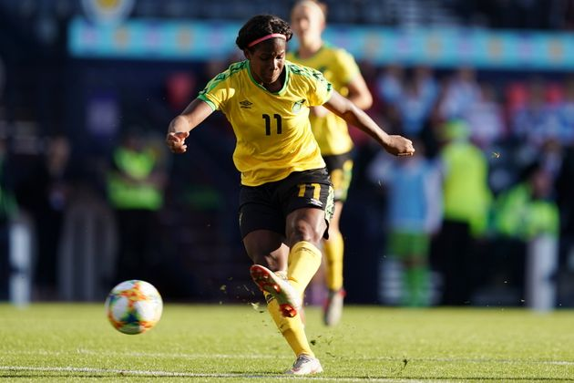 With the backing of Bob Marley's daughter, Khadija Shaw and the Reggae Girlz have revived women's soccer...