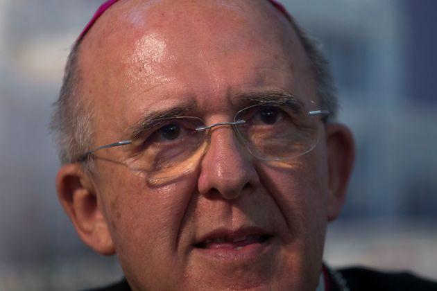 El cardenal arzobispo de Madrid, Carlos Osoro, en una imagen de
