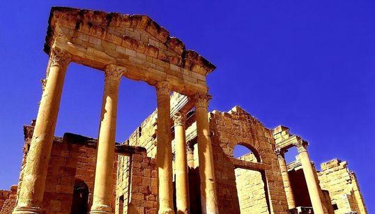 Un joyau de la Tunisie romaine, le superbe Capitole à trois temples de