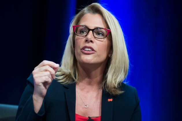 Sara Nelson,president of the Association of Flight Attendants, has emerged as one of the nation's...