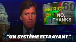 """Pour Fox News, le système métrique est un piège, un """"joug"""