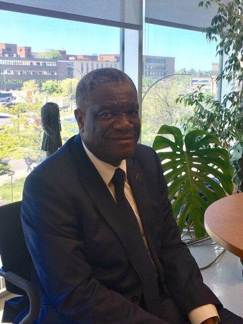 Le Dr Denis Mukwege, prix Nobel de la la