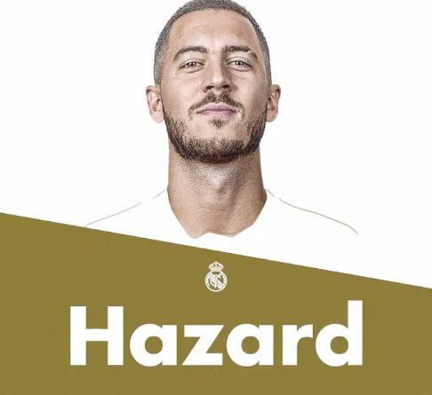 El Real Madrid hace oficial el fichaje de Eden