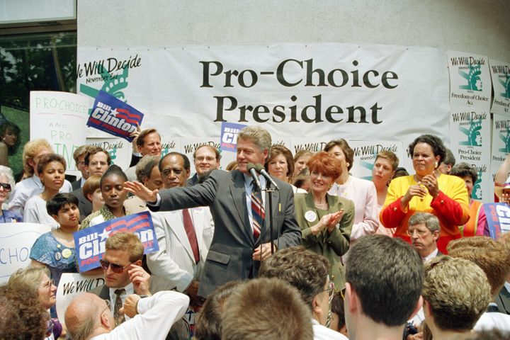 Bill Clinton openly campaigned against the Hyde Amendment in 1992.