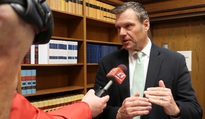 Former Kansas Secretary of State Kris Kobach, who led Trump's voter fraud commission, talked to the House Oversight Committee
